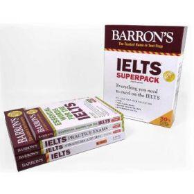 IELTS Superpack, Barron's Test Prep 4th Edition (Paperback)