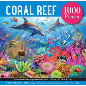 Coral Reef: 1000 Piece Jigsaw Puzzle