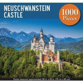 Neuschwanstein Castle: 1,000-Piece Jigsaw Puzzle