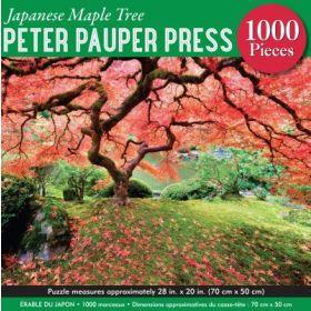 Japanese Maple Tree: 1000 Piece Jigsaw Puzzle