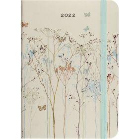 2022 Butterflies Weekly Planner