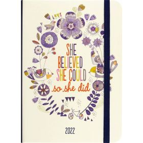 2022 She Believed She Could Weekly Planner