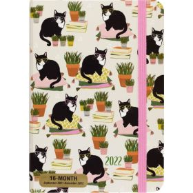 2022 16-Month Smarty Cats Weekly Planner