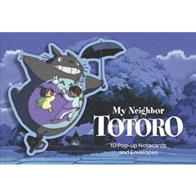 My Neighbor Totoro Pop-Up Notecards: 10 Pop-Up Notecards and Envelopes