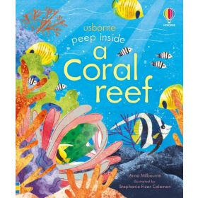 Peep inside a Coral Reef (Board Book)