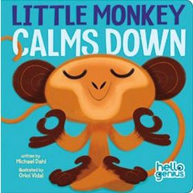 Little Monkey Calms Down, Hello Genius (Board Book)