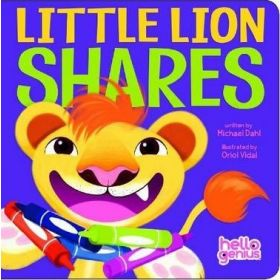 Little Lion Shares, Hello Genius (Board book)
