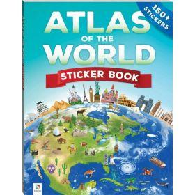 Atlas of the World Sticker Book (Paperback)