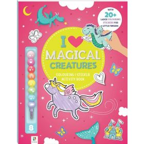 I Love Magical Creatures: Coloring & Activity Book (Paperback)