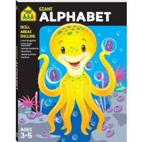School Zone Giant Workbook: Alphabet (Paperback)