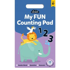 Junior Explorers: My Fun Counting Pad (Paperback)