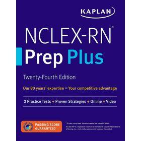 NCLEX-RN Prep Plus, Twenty-Fourth Edition (Paperback)