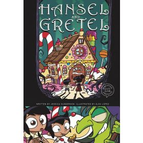 Hansel and Gretel: A Discover Graphics Fairy Tale (Paperback)