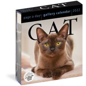 Cat Page-A-Day Gallery Calendar 2022