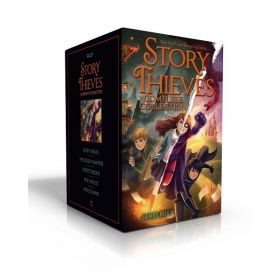 Story Thieves Complete Collection: Story Thieves; The Stolen Chapters; Secret Origins; Pick the Plot; Worlds Apart (Hardcover)