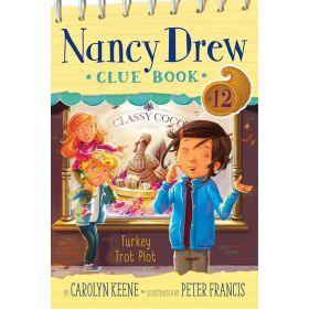 Turkey Trot Plot, Nancy Drew Clue Book 12 (Paperback)