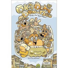 Okie Dokie Donuts: Open for Business! (Hardcover)
