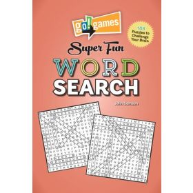 Go! Games Super Fun Word Search (Paperback)