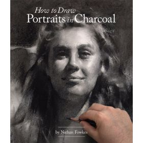 How to Draw Portraits in Charcoal (Paperback)