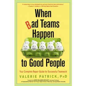 When Bad Teams Happen to Good People: Your Complete Repair Guide for Successful Teamwork (Paperback)