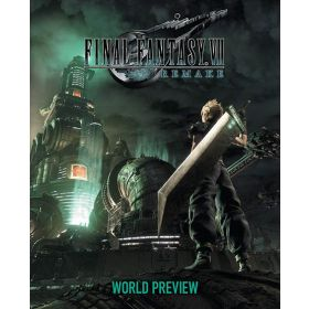 Final Fantasy VII Remake: World Preview (Hardcover)