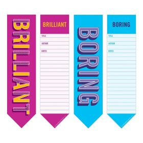Knock Knock: Bookmark Pads 2-in-1 (Boring/Brilliant)