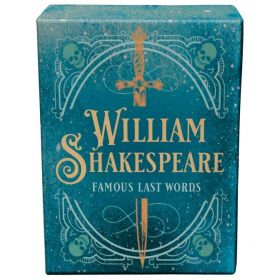 William Shakespeare: Famous Last Words, Tiny Book (Hardcover)