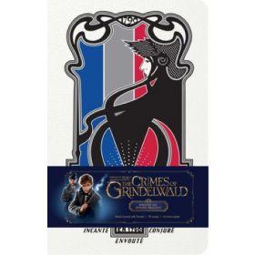 Fantastic Beasts: The Crimes of Grindelwald, Ministère des Affaires Magiques Ruled Journal (Hardcover)