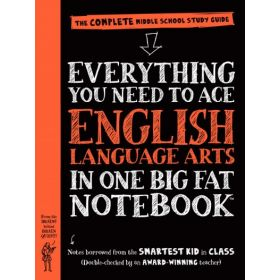 Everything You Need to Ace English Language Arts in One Big Fat Notebook (Paperback)