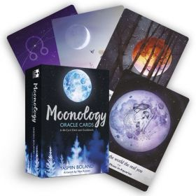 Moonology Oracle Cards: A 44-Card Deck and Guidebook (Cards)