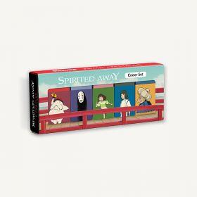 Studio Ghibli: Spirited Away Eraser Set