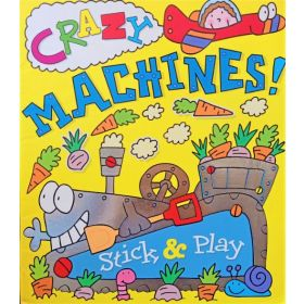 Crazy Machines! Sticker & Play (Paperback)