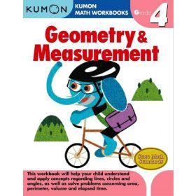 Grade 4 Geometry & Measurement, Kumon Math Workbooks (Paperback)