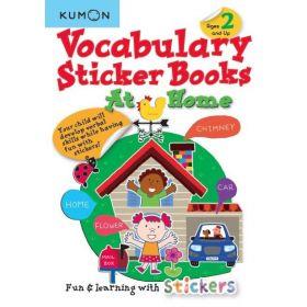 Vocabulary Sticker Books: At Home (Paperback)