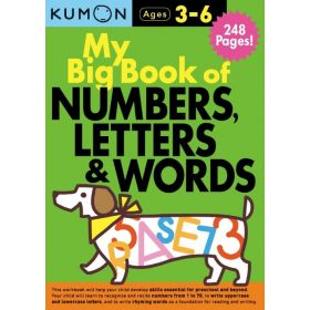 My Big Book of Numbers, Letters, and Words: Kumon Workbooks (Paperback)