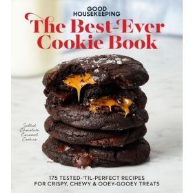 Good Housekeeping The Best-Ever Cookie Book: 175 Tested-'til-Perfect Recipes for Crispy, Chewy & Ooey-Gooey Treats (Hardcover)