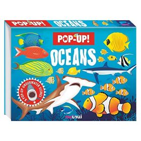 Nature's Pop-Up: Oceans (Hardcover)