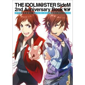 The Idolmaster SideM, 2nd Anniversary Book, Japanese Text Edition (Large Book)