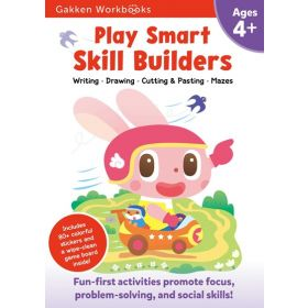 Play Smart Skill Builders Age 4+: Gakken Workbooks (Paperback)
