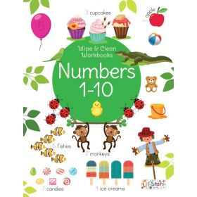 Wipe and Clean: Numbers (Paperback)
