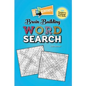 Go! Games Brain Building Word Search (Paperback)