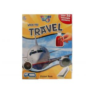When You Travel: Sticker Book (Paperback)