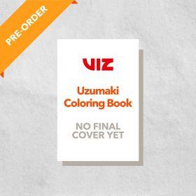 Uzumaki Coloring Book (Paperback)