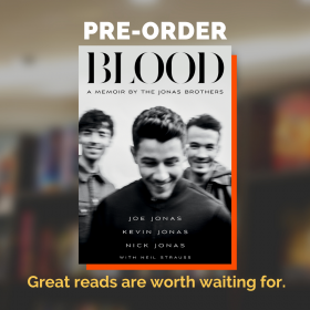 Blood: A Memoir by the Jonas Brothers (International Edition Paperback)