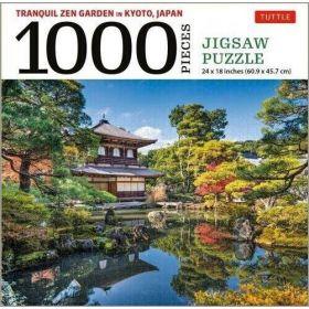 Tranquil Zen Garden in Kyoto, Japan: 1000 Piece (Jigsaw Puzzle)