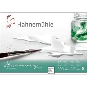 Hahnemühle: Harmony Watercolour A4 Hot Press Block, 12 Sheets