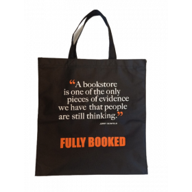Fully Booked Quote Tote Bag: Jerry Seinfeld (Black)