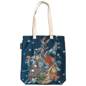 Fully Booked: Artist Tote Bag: Space Fetch