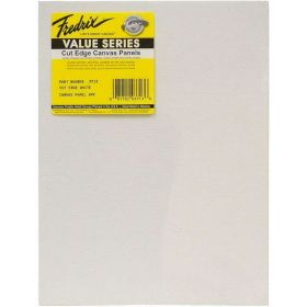 Tara Fredrix: 9 X 12 6PK Cut Edge Panel (White)