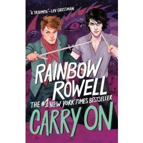 Carry On: Simon Snow Trilogy, Book 1, Bookshelf Edition (Hardcover)